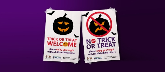 No tricks this Halloween
