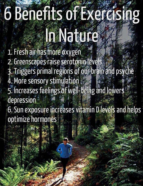 Benefits Exercising in Nature